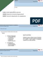 Teoria de La Organización y Organigramas - Sesión 7 Virtual