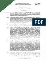 Resolucion CES Aprobacion EPN RPC SO 12 No.244 2017