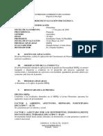 Informe de Evaluacion Psicologica- Luisa c.