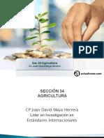 Sec 34 Agricultura