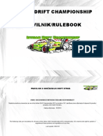 Pravilnik - Istrian Drift Championship