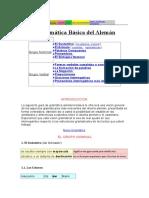 Aleman - Gramatica Basica