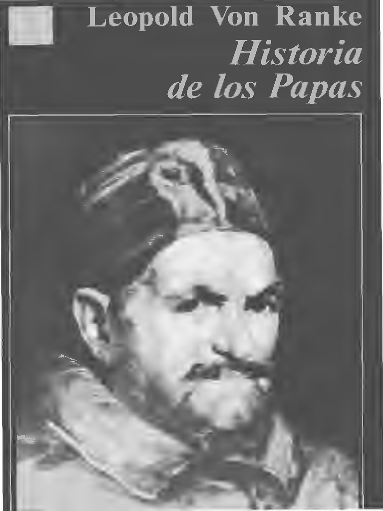 leopold von ranke historia de los papas pdf