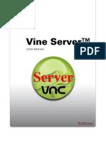 Vine Server Manual
