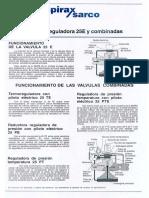 Valvula Reguladora 25P,25PT y 25PE Funcionamiento
