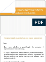 Aula 1 - Caracterização Quantitativa Das Águas Residuárias