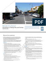 Draft Heidelberg Parking Plan Report
