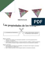 Secuencia de triángulo 3° año