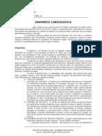 Anamnese Cardiológica