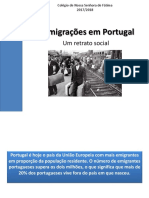 11 as Migrac3a7c3b5es Em Portugal