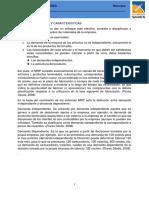 1.2 Esquema Básico y Característicos de MRP II