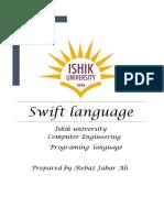 Swift Language 3