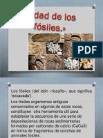 Edad de Los Fosiles