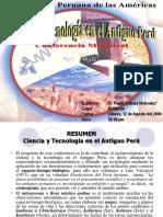 Ciencia y Tegnologia en El Antiguo Peru