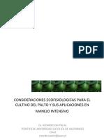 02 Consideraciones Ecofisiologicas Para El Cultivo Del Palto