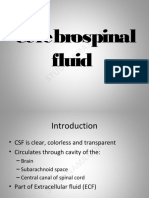 Cerebrospinal Fluid 1- Dental eBook & Lecture Notes PDF Download (Studynama.com - India's Biggest Website for BDS Study Material Downloads)