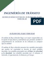 Ing. de Tránsito Unidad 1-4 Analisis Del Flujo Vehicular