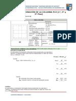 2018i-04-Trabajo Escalonado - Concreto Armado II - Comprobaciones Del Pilar P13