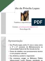 Portfólio de Priscila Lopes