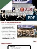 Level Up @ Schools x Utm