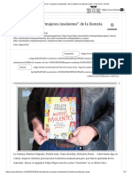 Al Rescate de Las _mujeres Insolentes_ de La Historia Sudamericana - The Clinic Online