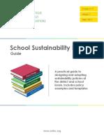 SEI School Sustainability Policy Guide