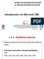Introduccion a La NIA Serie 700
