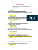 Módulo de Cardiología Respuestas