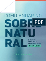 eBook - Como Andar No Sobrenatural