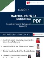 Anexo 01 - Materiales en La Industria