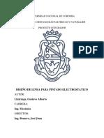 2016 PI Gustavo a Lizarraga Ing Mecanica UNC