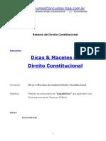 como estudar o direito constitucional sem problemas.doc