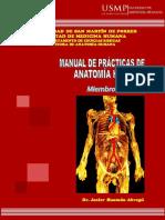 Manual Mmss de Practica de Anatomia 2018