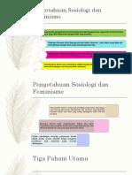 Pengetahuan Sosiologis Dan Feminism