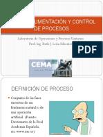 Instrumentación y Control de Procesos
