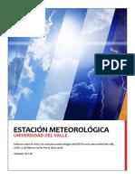 Informe Visita Estación Meteorológica