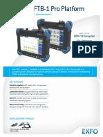 EXFO Spec Sheet FTB 1v2 FTB 1 Pro V3 En