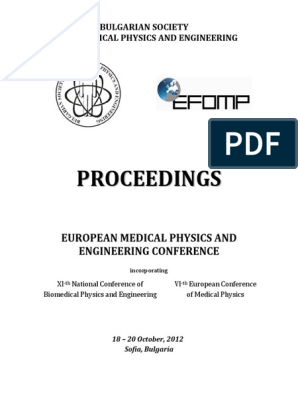 European MP and E Conference - Proceedings | Radiation