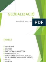 Diapositivas-globalización y Sus Dim.