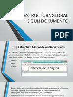 Estructura Global de Un Documento