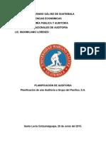 Auditoria Del Rubro de Inventarios