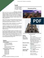 Economía Del Perú - Wikipedia, La Enciclopedia Libre