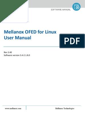 Mellanox OFED Linux User Manual v3 4-2 1 8 0 | Quality Of