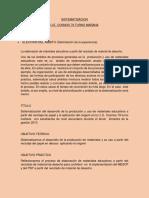 Perfil de Sitematizacion