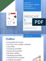 2. Predicate Quantifier
