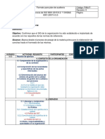 Plan de Auditoria Salon