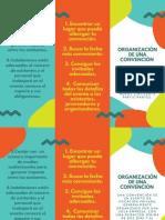 Organización de Una Convención