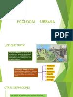 Ecologia Urbana-taller Vii