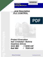 Siemens Plc - Control for Grinding Mills General Description