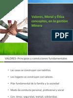 Unidad 1.Valores, Moral y Etica, Conceptos